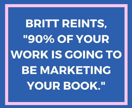 Perspectives from Self-Publisher, Britt Reints on Marketing and Topic Burnout