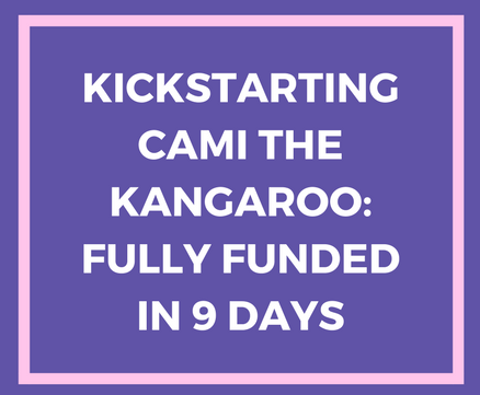 Kickstarting Cami the Kangaroo—How one author reached 100% in 9 days