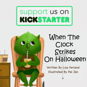 When the clock strikes on halloween kickstarter
