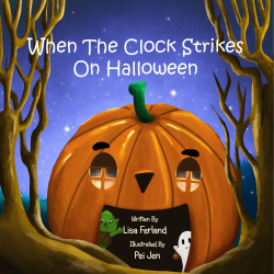 book cover When the Clock Strikes on Halloween