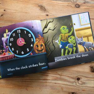when the clock strikes on halloween four