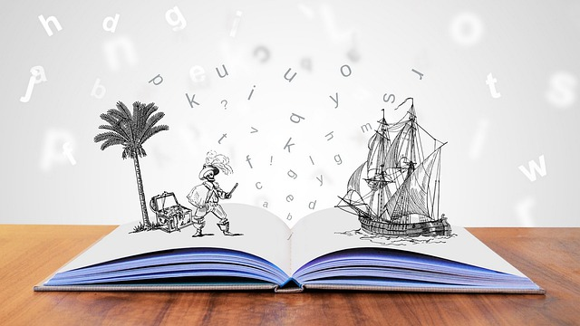 translating childrens books pirate ship