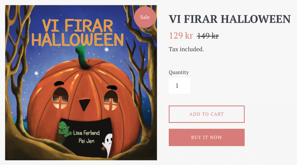 vi firar halloween shopify