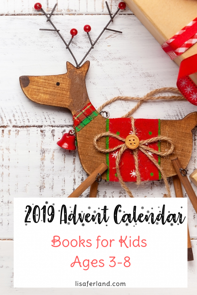 2019 advent calendar books for kids lisa ferland