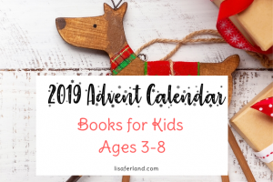 2019 advent calendar for kids lisaferland
