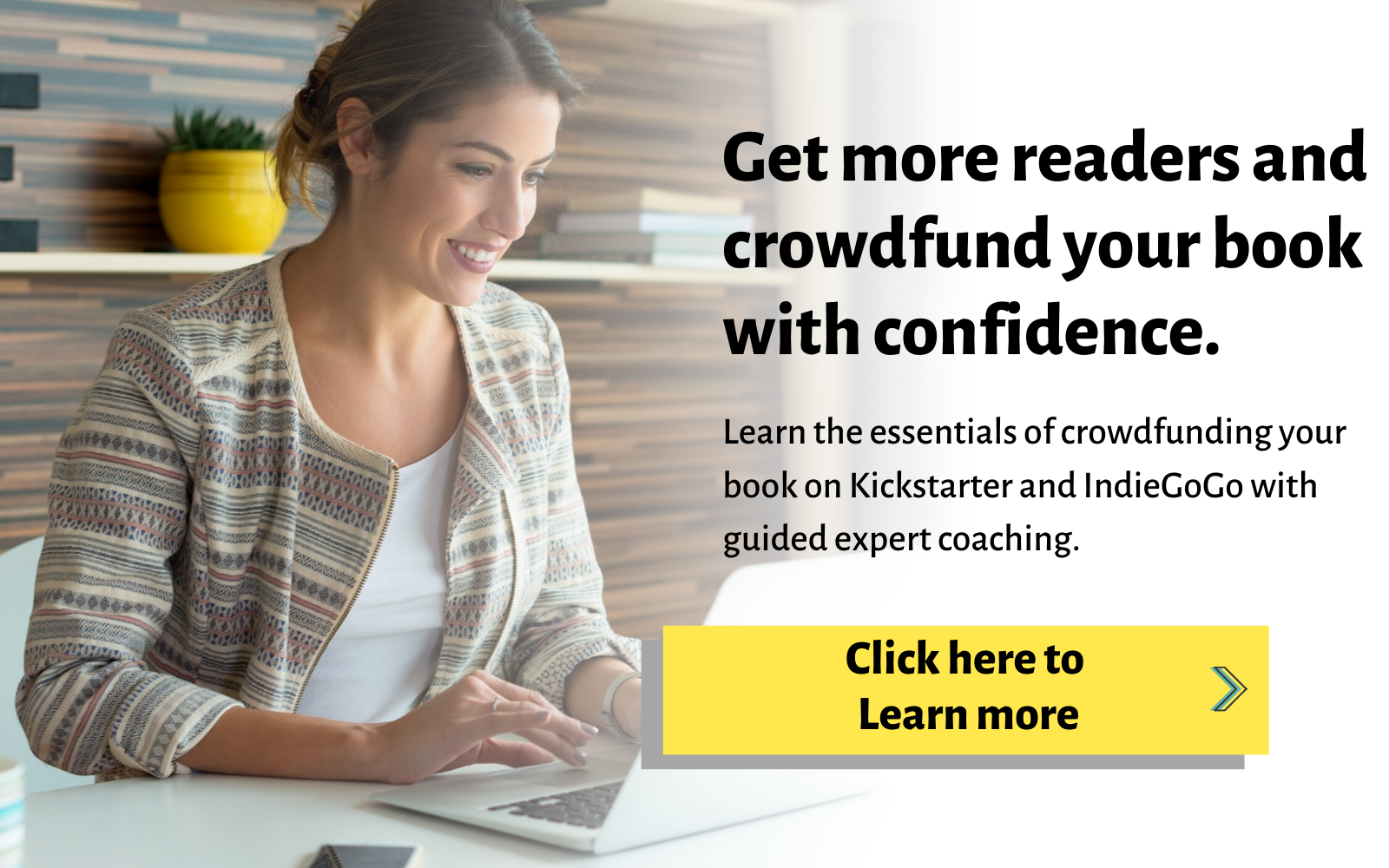 Crowdfund your book course click to learn more