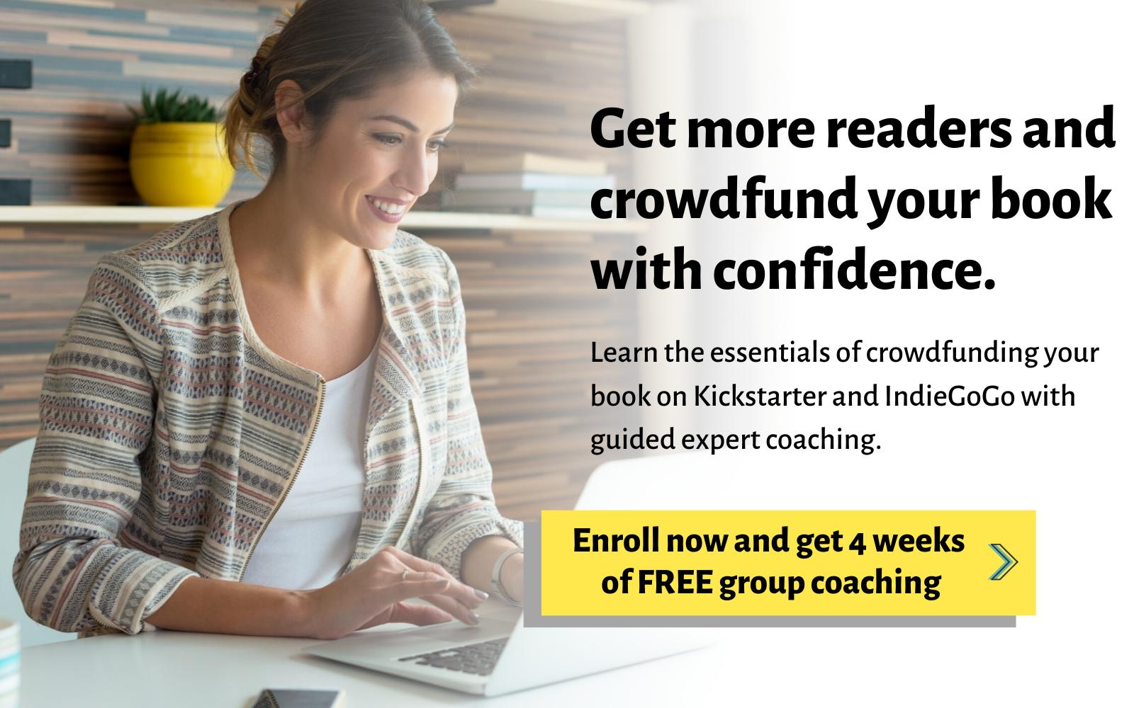 crowdfunding group coaching Lisa Ferland