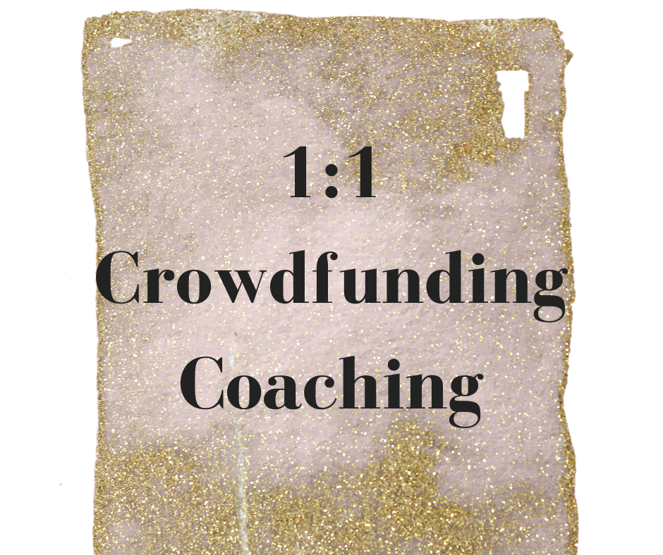 1-1 crowdfunding coaching