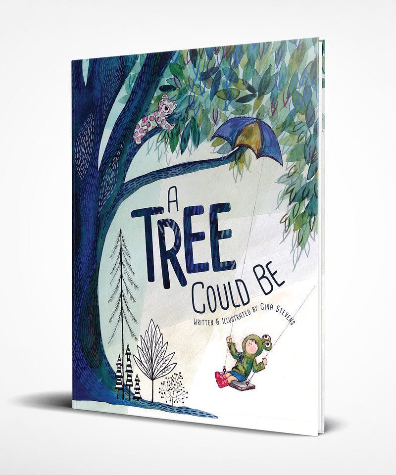 A Tree Could Be—Gina Stevens Raises $9700 in 3 Weeks on Kickstarter