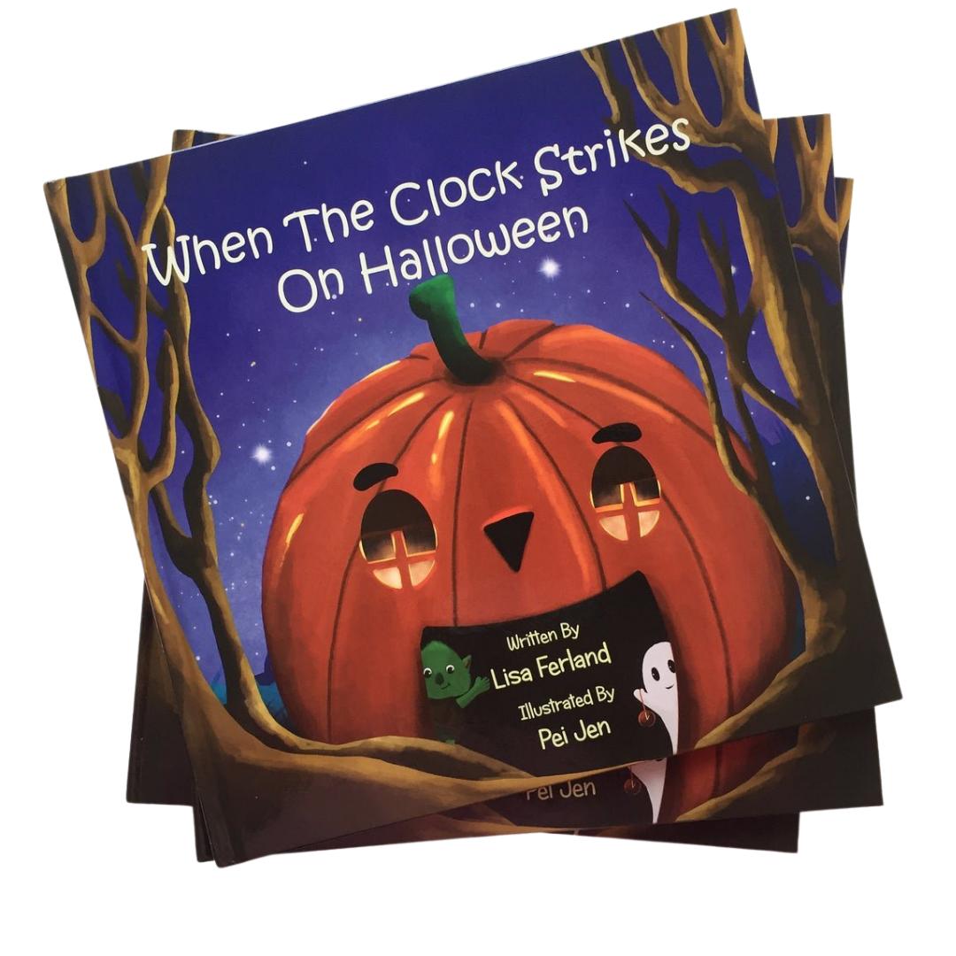 when the clock strikes on halloween Lisa Ferland Pei Jen