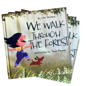 we walk through the forest cover lisa ferland